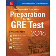 McGraw-Hill Education Preparation for the GRE Test (BOK)