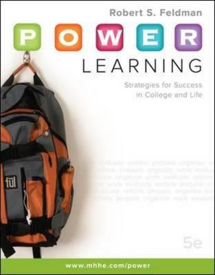 P.O.W.E.R. Learning: Strategies for Success in College and Life (BOK)