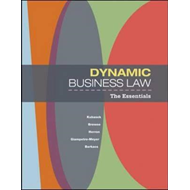 Dynamic Business Law: The Essentials (BOK)