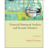Financial Statement Analysis and Security Valuation (BOK)