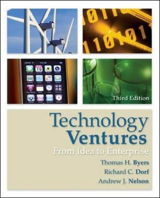 Technology Ventures: From Idea to Enterprise (BOK)
