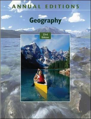 Annual Editions: Geography (BOK)