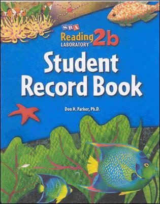 Reading Lab 2B - Student Record Book - Levels 2.5 - 8.0 (BOK)