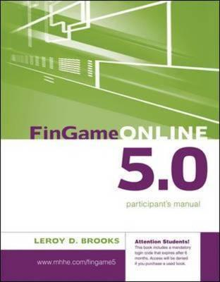 FinGame 5.0 Participant's Manual with Registration Code (BOK)