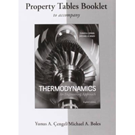Property Tables Booklet for Thermodynamics: An Engineering A (BOK)