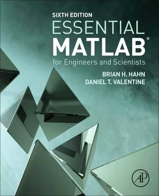 Essential MATLAB for Engineers and Scientists (BOK)