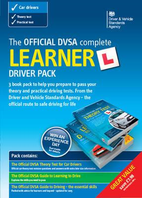 Official DVSA Complete Learner Driver Pack (BOK)