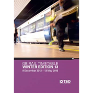 GB Rail Timetable Winter Edition 13 (BOK)