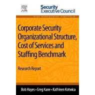 Corporate Security Organizational Structure, Cost of Service (BOK)