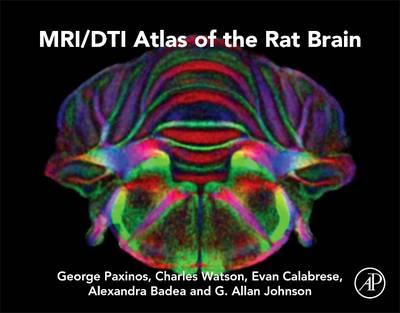MRI/DTI Atlas of the Rat Brain (BOK)