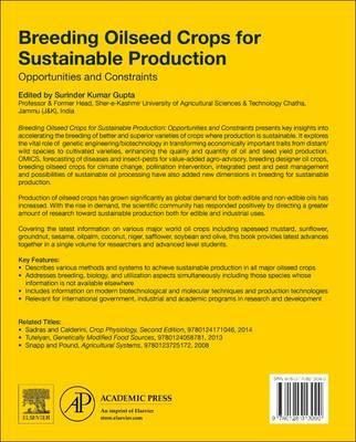 Breeding Oilseed Crops for Sustainable Production (BOK)