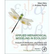 Applied Hierarchical Modeling in Ecology: Analysis of distri (BOK)