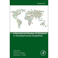 International Review of Research in Developmental Disabiliti (BOK)
