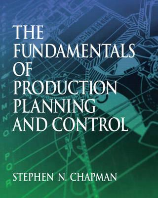 Fundamentals of Production Planning and Control (BOK)