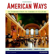 American Ways: An Introduction to American Culture (BOK)