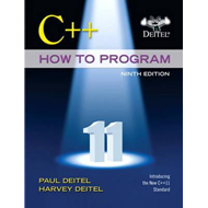 C++ How to Program (early Objects Version) (BOK)