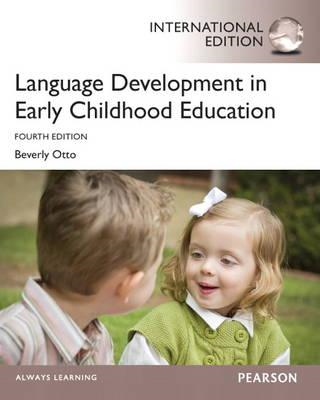 Language Development in Early Childhood Education (BOK)