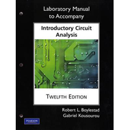 Laboratory Manual for Introductory Circuit Analysis (BOK)