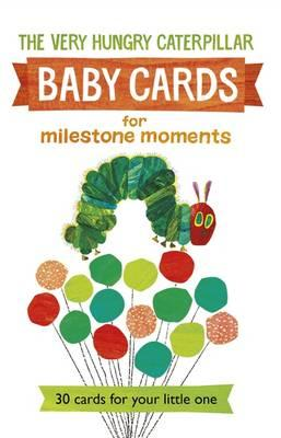 Very Hungry Caterpillar Baby Cards: for Milestone Moments (BOK)
