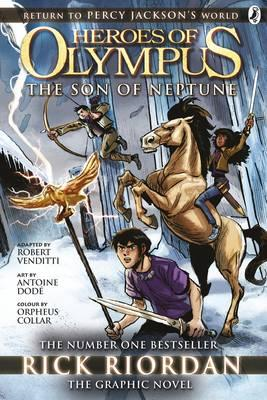 Son of Neptune: The Graphic Novel (Heroes of Olympus Book 2) (BOK)