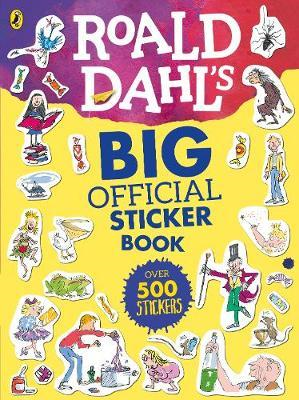 Roald Dahl's Big Official Sticker Book (BOK)