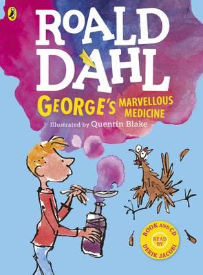 George's Marvellous Medicine (Colour book and CD) (BOK)