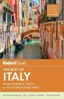 Fodor's the Best of Italy (BOK)