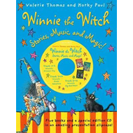 Winnie the Witch: Stories, Music, and Magic! with audio CD (BOK)