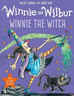 Winnie and Wilbur: Winnie the Witch with audio CD (BOK)