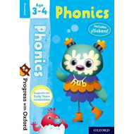 Progress with Oxford: Phonics Age 3-4 (BOK)