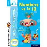 Progress with Oxford: Numbers up to 10 Age 3-4 (BOK)