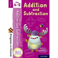 Progress with Oxford: Addition and Subtraction Age 4-5 (BOK)