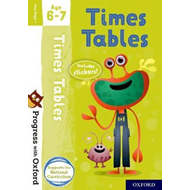 Progress with Oxford: Times Tables Age 6-7 (BOK)