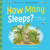 My First Milestones: How Many Sleeps? (BOK)