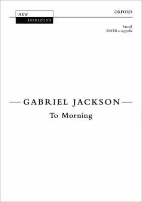To Morning: Vocal Score (BOK)
