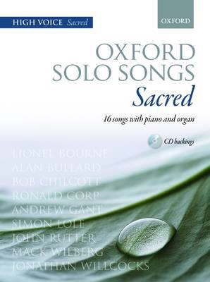 Oxford Solo Songs: Sacred (BOK)