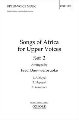 Songs of Africa for Upper Voices Set 2: Vocal Score (BOK)