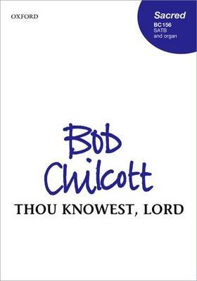 Thou Knowest, Lord: Vocal Score (BOK)