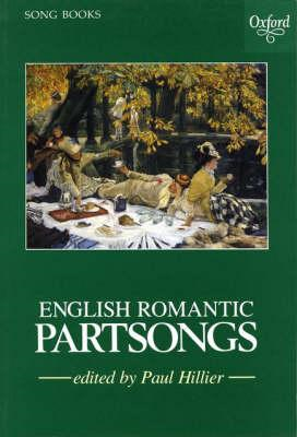 English Romantic Partsongs: Vocal Score (BOK)