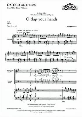 O Clap Your Hands (BOK)