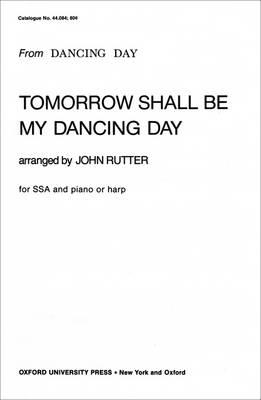 Tomorrow shall be my dancing day (BOK)