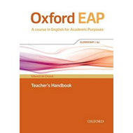 Oxford EAP: Elementary/A2: Teacher's Book, DVD and Audio CD (BOK)