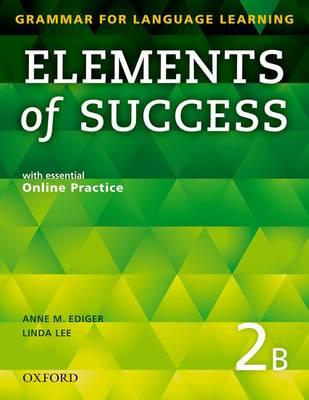 Elements of Success: 2: Split Edition Student Book B with Es (BOK)
