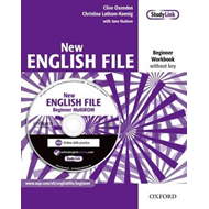 New English File: Beginner: Workbook with MultiROM Pack (BOK)