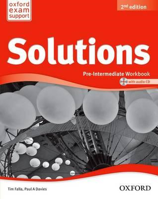 Solutions: Pre-Intermediate: Workbook and Audio CD Pack (BOK)