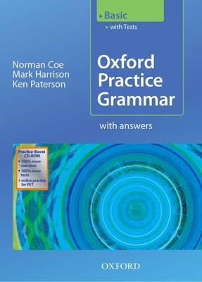 Oxford Practice Grammar Basic: With Key Practice-Boost CD-RO (BOK)