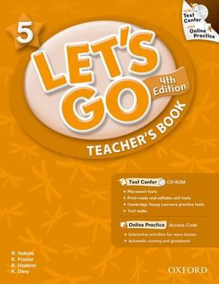Let's Go: 5: Teacher's Book with Test Center Pack (BOK)