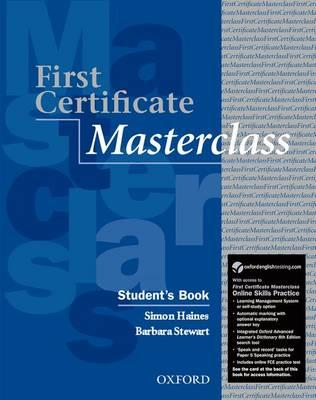 First Certificate Masterclass Student's Book with Online Ski (BOK)