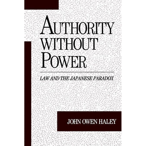 Authority without Power (BOK)