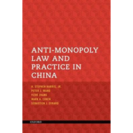 Anti-monopoly Law and Practice in China (BOK)